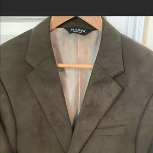 Jos. A. Bank Suits & Blazers - Jos. A. Bank hunter green/olive suede blazer; R39